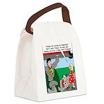 9-11 Super Heros Canvas Lunch Bag