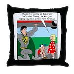 9-11 Super Heros Throw Pillow