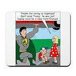 9-11 Super Heros Mousepad
