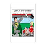 9-11 Super Heros Mini Poster Print