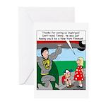 9-11 Super Heros Greeting Cards (Pk of 10)