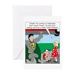 9-11 Super Heros Greeting Card