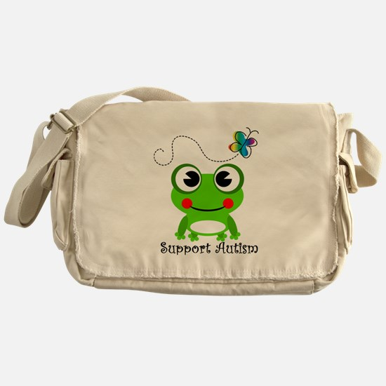 Support Autism shirt Messenger Bag