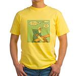Noah Talks to God Yellow T-Shirt
