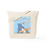 Noah Talks to God Tote Bag
