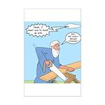 Noah Talks to God Mini Poster Print