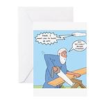 Noah Talks to God Greeting Cards (Pk of 10)