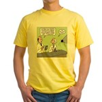 Mouse Scaling Yellow T-Shirt