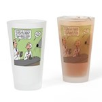 Mouse Scaling Drinking Glass