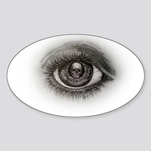 Eye-D Sticker (Oval)