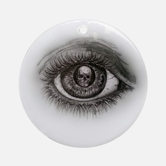 Eye-D Round Ornament