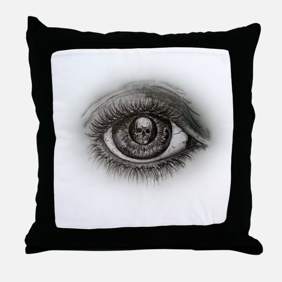 Eye-D Throw Pillow