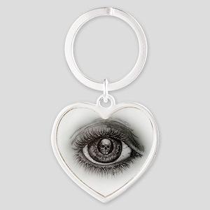 Eye-D Heart Keychain