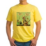 Macho Country Singer Yellow T-Shirt