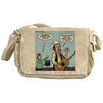 Macho Country Singer Messenger Bag