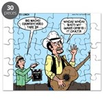 Macho Country Singer Puzzle