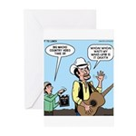 Macho Country Singer Greeting Cards (Pk of 10)