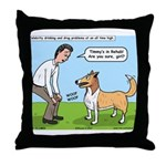 Celebrity Rehab Throw Pillow