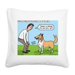 Celebrity Rehab Square Canvas Pillow