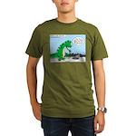 9-11 New York Tribute Organic Men's T-Shirt (dark)