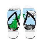 9-11 New York Tribute Flip Flops
