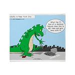 9-11 New York Tribute Throw Blanket
