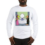 Toilet Bowl Punch Bowl Long Sleeve T-Shirt