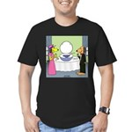 Toilet Bowl Punch Bowl Men's Fitted T-Shirt (dark)