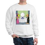 Toilet Bowl Punch Bowl Sweatshirt