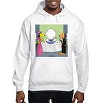 Toilet Bowl Punch Bowl Hooded Sweatshirt