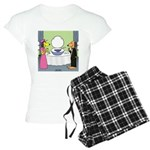 Toilet Bowl Punch Bowl Women's Light Pajamas