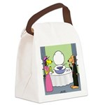 Toilet Bowl Punch Bowl Canvas Lunch Bag
