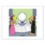 Toilet Bowl Punch Bowl Small Poster