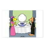 Toilet Bowl Punch Bowl Postcards (Package of 8)