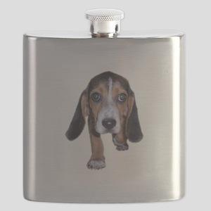 Beagle Puppy Walking Flask
