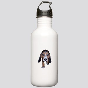 Beagle Puppy Walking Stainless Water Bottle 1.0L