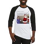 Santa Disrespected Baseball Jersey