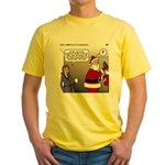 Santa Disrespected Yellow T-Shirt