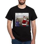 Santa Disrespected Dark T-Shirt