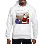 Santa Disrespected Hooded Sweatshirt
