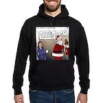 Santa Disrespected Hoodie (dark)