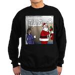 Santa Disrespected Sweatshirt (dark)