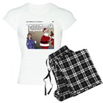 Santa Disrespected Women's Light Pajamas