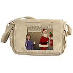 Santa Disrespected Messenger Bag