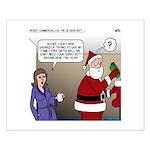 Santa Disrespected Small Poster