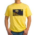 Silent Night Light Yellow T-Shirt