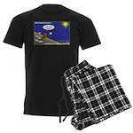 Silent Night Light Men's Dark Pajamas