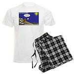 Silent Night Light Men's Light Pajamas