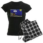 Silent Night Light Women's Dark Pajamas
