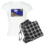 Silent Night Light Women's Light Pajamas